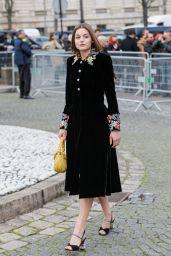 Emma Corrin – Louis Vuitton Show at Paris Fashion Week 03/03/2020