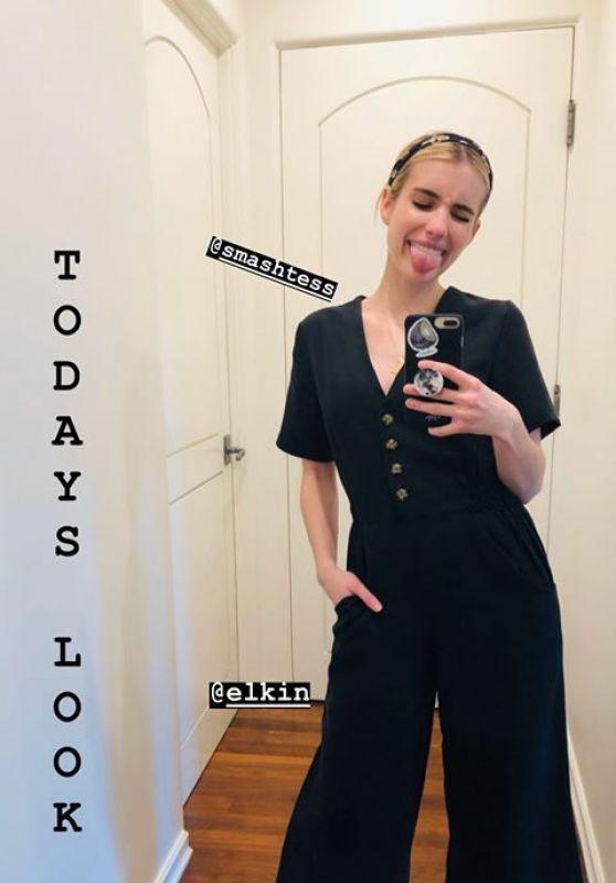 Emma Roberts Style 03/28/2020