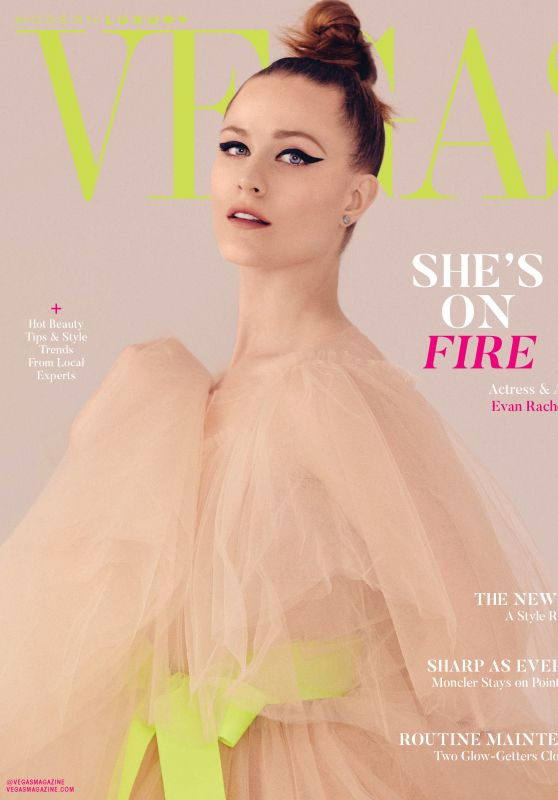 Evan Rachel Wood - Vegas Magazine March 2020 Issue