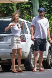 Gabriella Brooks and Liam Hemsworth With Liam