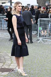Gaia Weiss – Arriving at the Miu Miu Fashion Show in Paris 03/03/2020