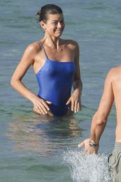Georgia Fowler in Swimsuit - Beach in Sydney 03/21/2020