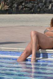 Georgia Harrison in a Bikini by the pool at Her Hotel in Tenerife 03/02/2020