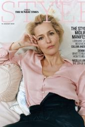 Gillian Anderson - The Sunday Time Style January 2020 Issue