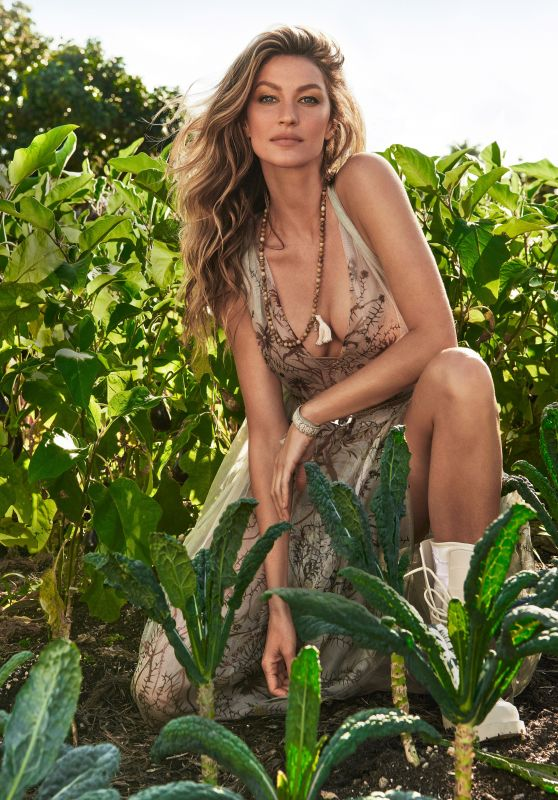 Gisele Bündchen - Marie Claire US April 2020