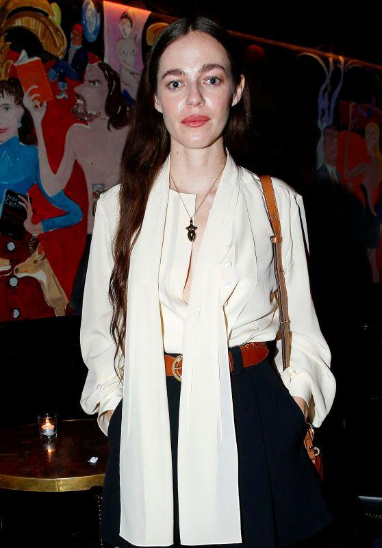 Hailey Benton – Chloe Dinner at Paris Fashion Week 02/27/2020