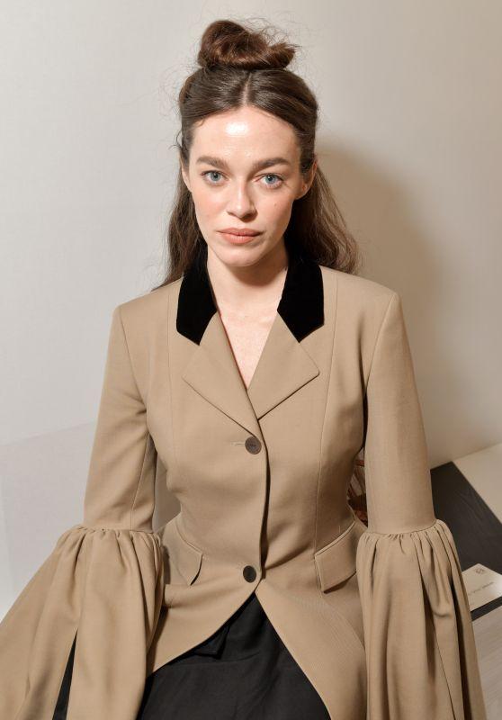 Hailey Benton – Loewe Show at Paris Fashion Week 02/28/2020
