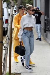 Hailey Rhode Bieber and Justin Bieber - Celebrating Justin
