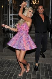 Hannah Elizabeth Night Out Style - Celebrating Her 30th Birthday in London 03/14/2020