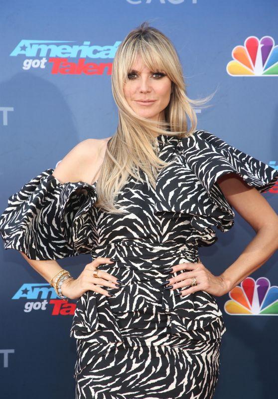 "Heidi Klum – ""America's Got Talent"" Season 15 Kickoff in Pasadena"