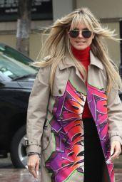 Heidi Klum - Arrives at America