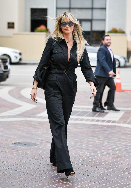 Heidi Klum Street Style - Pasadena 03/07/2020