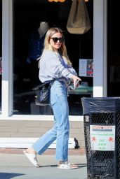 Hilary Duff in Casual Outfit - Joans on Third in Studio City 03/02/2020