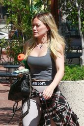 Hilary Duff in Gym Ready Outfit - Studio City 03/06/2020c