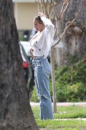 Hilary Duff Street Style - LA 03/28/2020
