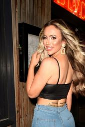 Holly Hagan - Night Out at BLVD in Manchester 03/15/2020
