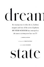 Hunter Schafer - InStyle Magazine Australia April 2020 Issue