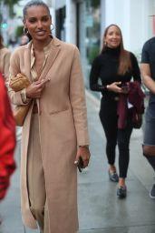 Jasmine Tookes Style - Ladurée in Beverly Hills 03/10/2020