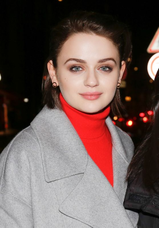 Joey King Night Out Style - Paris 02/29/2020