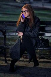 "Julia Garner - ""Shonda Rhimes"" Set in New York 03/01/2020"