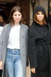 Julia Restoin-Roitfeld – Arrives at Stella McCartney Show at Paris Fashion Week 03/02/2020