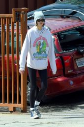 Kaia Gerber in Casual Outfit - Out in Los Angeles 03/21/2020