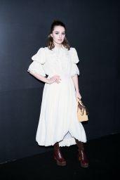 Kaitlyn Dever – Louis Vuitton Show at Paris Fashion Week 03/03/2020