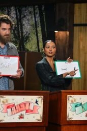 Kat Graham - Guest Appearance on the Good Mythical Morning Show in LA 03/12/2020