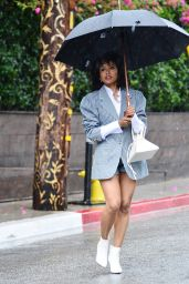 Kat Graham - Leaves the Petit Ermitage Hotel in West Hollywood 03/13/2020