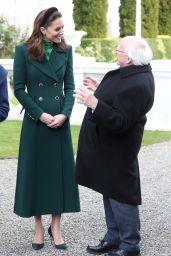Kate Middleton - Royal Visit Dublin 03/03/2020