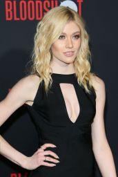 """Katherine McNamara – """"Bloodshot"""" Premiere in LA"""
