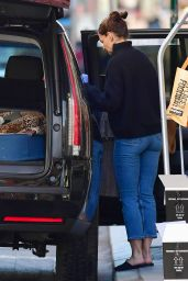 Katie Holmes - Leaving Her Home in NYC 03/27/2020