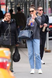 Katie Holmes - Out in NYC 03/11/2020