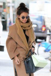 Katie Holmes Street Style - New York City 02/29/2020