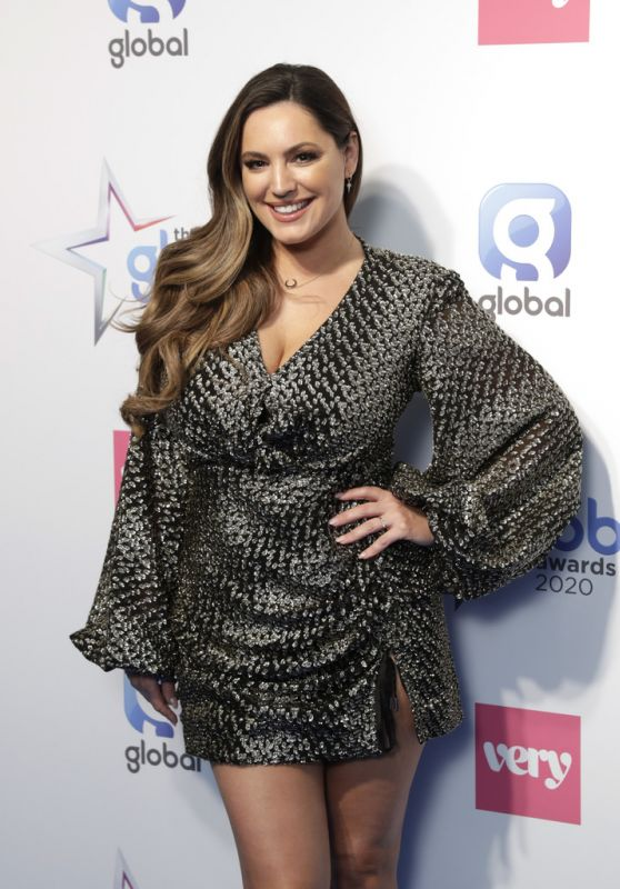 Kelly Brook – The Global Awards 2020