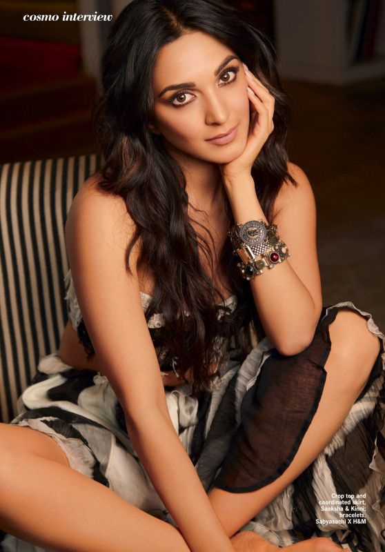 Kiara Advani - Cosmopolitan Magazine India March 2020 Issue