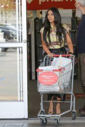 Kim Kardashian and David Letterman - Shopping at CVS in Calabasas 03/05/2020