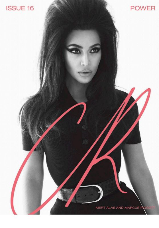 Kim Kardashian – CR Fashion Book #16 Spring / Summer 2020