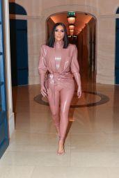 Kim Kardashian in Latex - Paris 03/01/2020