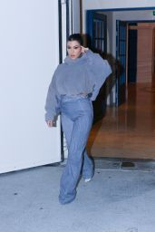 Kourtney Kardashian - Heads to the Yeezy Show in Paris 03/02/2020