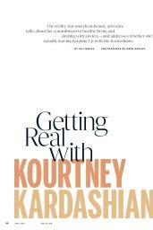 Kourtney Kardashian - Health Magazine April 2020 Issue