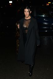 Kourtney Kardashian - Out in Paris 03/01/2020