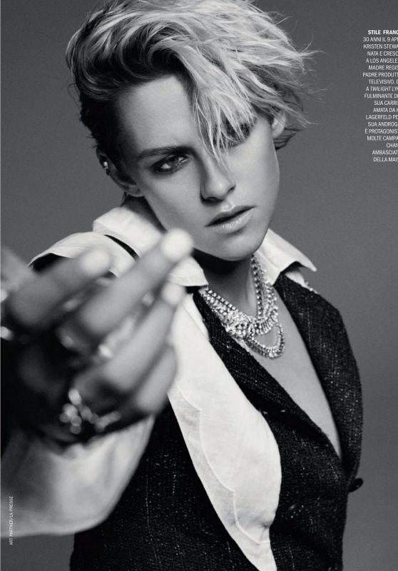 Kristen Stewart - Marie Claire Italy 04/01/2020 Issue