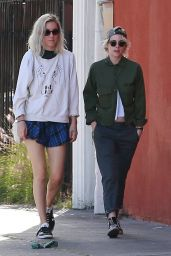 Kristen Stewart - Out With a Friend in Los Feliz 03/08/2020