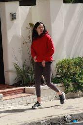 Krysten Ritter in Leggings - Out in Los Angeles 03/17/2020