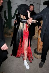 Kylie Jenner - Leaving a Western-Themed Party at SHOREbar in Santa Monica 03/05/2020