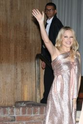 Kylie Minogue in Her Hotel in Sao Paulo 03/05/2020