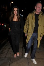 Kym Marsh and Antony Cotton - Rosso Restaurant in Manchester 03/07/2020
