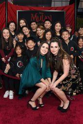 "Laura Marano – ""Mulan"" Premiere in Hollywood"
