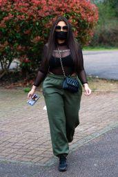 Lauren Goodger - Leaving Her House in Essex 03/20/2020